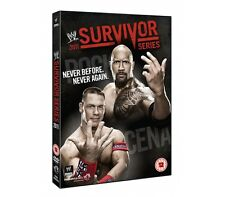 Official WWE Survivor Series 2011 DVD