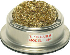 Soldering Iron tip cleaner - metal strand tip wire wool pot - excellent quality