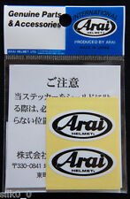 (Tuning)-Autocollant Sticker- ARAI : HELMET (x2) -4x2cm- PRODUIT ORIGINAL /JAPAN