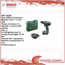 BOSCH-V TRAPANO 1 BATT. PSR LI-2UNIVERSAL Batteria 14,4 V 1,5 Ah Litio ART.94286