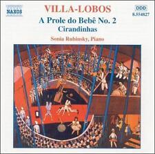 Villa-Lobos: A Prole do Bebe No. 2, Cirandinhas 2006 by Heitor Villa- -ExLibrary