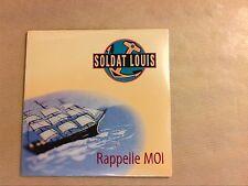 RARE CD PROMO / SOLDAT LOUIS / RAPPELLE MOI / NEUF SOUS CELLO