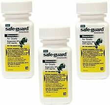 (3 Pack) Durvet Safeguard Goat Dewormer 125ML PROD20000171