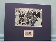 President John F. Kennedy and the Kennedy Family honored by his own stamp