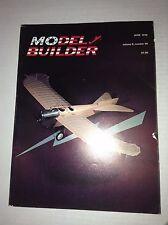 Model Builder Magazine Chopper Chatter The Control Line June 1976 032817NONRH