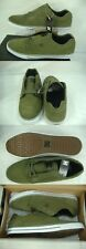 New Mens 12 DC Tonik Dark Olive Suede Leather Skate Shoes $55