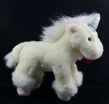 Very Cute Russ Berrie  Plush Collectable Toy ~ Pale Lemon Unicorn