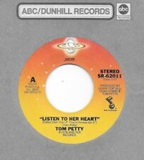 TOM PETTY & The HEARTBREAKERS * 45 * Listen To Her Heart * 1978 *Near MINT VINYL