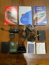 3Com Palm Vx Pda Handheld Organizer with Manuals, Charger, and Extras; Works