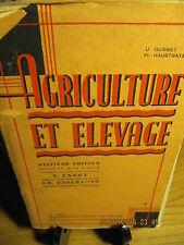 Agriculture et Elevage FAGOT & DESCHAMPS 1937