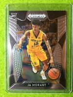 Ja Morant PRIZM ROOKIE CARD JERSEY #12 MS RC GRIZZLIES 2019 Prizm Draft Picks rc