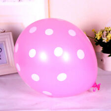 "Latex colorful 12""10/20 pcs Polka Dot Balloon Party Wedding Birthday Decorating"