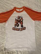 Vtg 80s 1980 Crunch Bunch Striped Raglan Ringer T-Shirt New York Giants Taylor M