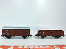 At238-0, 5# 2x roco h0/ac wagons un: 120 1 293-8 db+506 0 493-7 Dr, s.g.