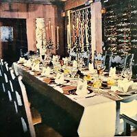 San Francisco CA Ernies Restaurant At Bacchus Cellar Postcard California Wine