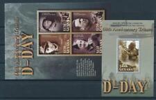 [G357973] Guyana 2004 War 2 good Sheets very fine MNH