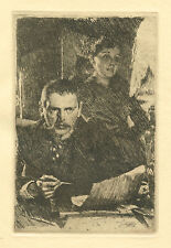 """Anders Zorn """"Zorn and his Wife"""""""