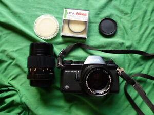 Agfa Selectronic 2 mit Objektiv antike Kamera Fotoapparat aus Sammler Nachlass