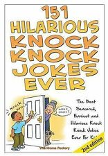 NEW 151 Hilarious Knock Knock Jokes Ever by The Moma Factory