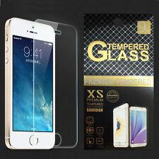 für iPhone SE 5 5S 5C 9H Schutz Folie Echt Tempered 9H