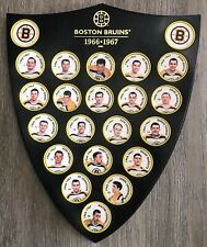 NHL Boston Bruins 1995 Parkhurst coins  representing 1966-67 with shield!