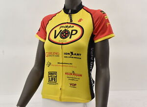 Hincapie Women's S Gruppo VOP Austin Texas Short Sleeve Jersey Yel/Red CLOSEOUT