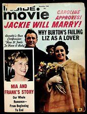 INSIDE MOVIE - DECEMBER 1965 - ELVIS, BEATLES, SINATRA, MONROE, MONTGOMERY