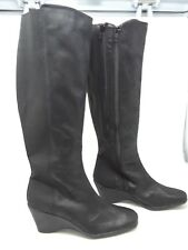 New!! Women's  Areosoles A2 Taekwondo XC (Extended Calf) Black Boots V7