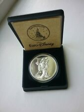 More details for euro disney 1992 opening solid silver coin