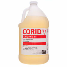 CORID 9.6% SOLUTION Amprolium Water-soluble Coccidiosis Prevention Cattle Gallon
