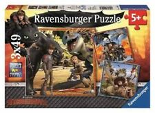 Ravensburger How to Train Your Dragon - 3 x 49pc Jigsaw Puzzle