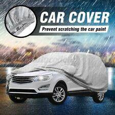 15.4x5.9x6ft Full Car SUV Cover Waterproof UV Dust Rain Snow Resistant Protector