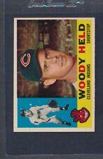 1960 Topps #178 Woody Held Indians EX/MT *3705
