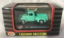 Model Power Minis Exclusive ~ 1956 Ford F - 100 Pick-Up Truck aqua~ 1:87 HO  NIB