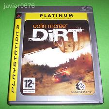 COLIN MCRAE DIRT COMPLETO PAL ESPAÑA PLAYSTATION 3 PS3