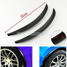 Universal Car Wheel Arch Trims Extensions Arches Spats Sticker 32cm 1Pair
