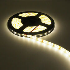 16ft 5M Warm White LED Light Waterproof Lighting Strip SMD 3528 300 LEDs Kitchen