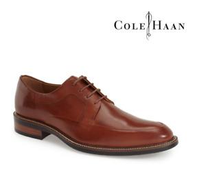 Cole Haan Men's Leather Apron Toe Derby Size 10.5 MSRP $249