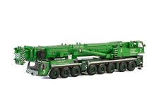 "LIEBHERR LTM 1500-8.1 ""JAMES JACK"" MOBILE CRANE GREEN 1/50 BY WSI MODELS 51-2007"