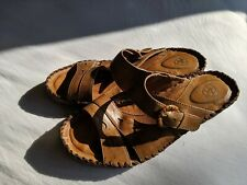 Ariat Womans wedge slides Leather Upper size 6.5 B