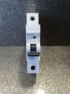 MEM EATON  2000 MCB 32 Amp Type B 32A Single Pole Breaker Memshield 2 ALB321