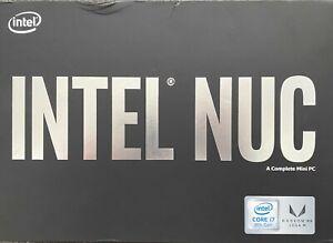 Intel NUC NUC8i7HNK Intel i7 8th Gen 4.10 GHz 16GB RAM 512GB SSD Mini PC Win 10