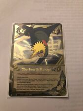 Naruto Cards TCG CCG The Fourth Hokage 712 SUPER RARE COMBINED SHIPPING