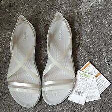 Crocs Isabella Strappy UK Size 4 (W6) New With All Tags.