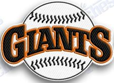 SAN FRANCISCO GIANTS  iron on embroidered embroidery patch baseball  logo mlb