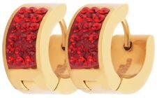 Bigiotteria rosso in acciaio