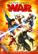 Dcu: Justice League: War (Dvd) New Factory Sealed, Free Shipping