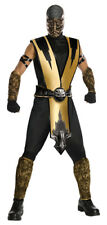 Mortal Kombat Scorpion Ninja Costume Size Standard