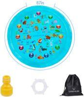 Sprinkler for Kids Splash Pad Play Mat