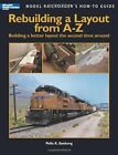 Kalmbach 12464 Rebuilding a Layout from A-Z New Free Shipping